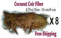 Natural Coconut Husk Fiber Clean Orchids Arts Crafts Pet Bedding Pet Toy