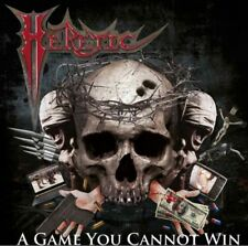 HERETIC- A Game You Cannot Win CD us power/speed/thrash legend ala HALLOWS EVE