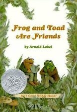 Frog and Toad Are Friends-ExLibrary