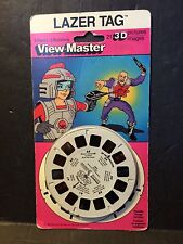 NEW SEALED VIEW-MASTER Lazer Tag #7156 #4216 3D Color 1986 Canada 830-3720-01