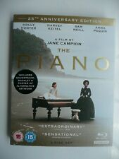 The Piano (Blu-ray + OST CD, 2018) 25th Anniversary Edition, with slip cover