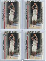 x4 LEBRON JAMES 2003-04 Upper Deck Rookie Card lot/set Mint! Gold Top Loaders #3