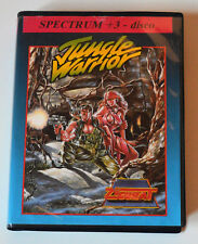 JUNGLE WARRIOR (Spectrum +3) ( Zigurat ). ED. ESPAÑOLA.