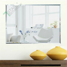 1200 X 900mm Bathroom Large Mirror Bevel Edge Wall Mounted Rectangle Frameless