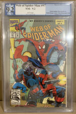 Web Of Spider-Man #97 PGX 9.2 Marvel Comics 1993 1st Dr Kevin Trench Nightwatch