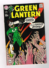 "Green Lantern #71 (V1): Silver Age Grade 8.0 Find ""The City That Died""!"