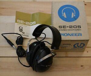 Cuffie Pioneer SE-250 stereo headphones Boxed vintage