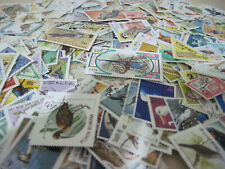 THEMATIC STAMPS KILOWARE BIRDS 50GRM.LOTS