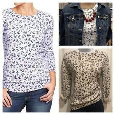 New listing NWOT Old Navy Sweater, Blue Anchor Print on Ivory, Medium-So many ways to style!