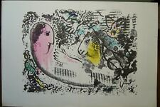 MARC CHAGALL ORIGINAL LITHOGRAPH IN COLOR FROM 1969 (SF3:34, 18)