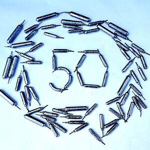 50 pack DROP SHOT WEIGHTS LRF HRF perch TRONIX SAVAGE  HTO