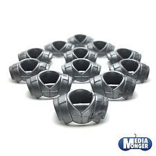 playmobil® 12 x Kragen silber | Panzerung | Ritter | Römer | Legionär | Wikinger