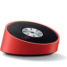 YAMAHA TSX-B15 ALARM CLOCK RADIO BLUETOOTH SPEAKER RED USB CHARGING AUX-IN FM