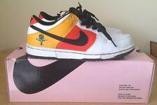 Nike Dunk Low Pro SB Rayguns White Orange Flash Black 9 Sweatband