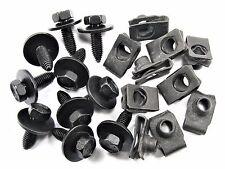 Body / Fender Bolts & U-Nuts For Nissan- M8mm Thread- 13mm Hex- Qty.10 ea.- #152