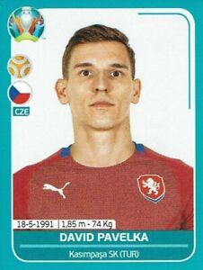 Panini Euro Em 2020 Preview Sticker Czech Republic Cze 25 David Paleka