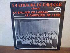 "TRES RARE - SP 7"" - LA CHORALE DE BAUDOUR - EX/VG+ - HEBRA - 694 - BELGIUM"