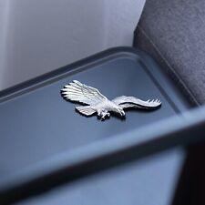 "USA American Bald Eagle Chrome Auto Emblem – (5"" x 2"") - Decal For Cars Trucks"