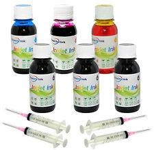24oz HP Printer Ink Refill Kit Premium Color & Black 600ml
