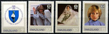 Swaziland 1982 SG#404-7 Princess Of Wales 21st Birthday MNH Set #D54607