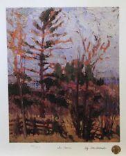 Tom THOMSON Group of Seven THE FENCE LTD art print MINT Algonquin Park