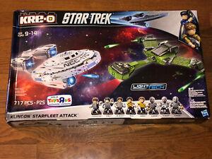 KRE-O Star Trek Klingon Starfleet Attack Kreo A4879 Factory Sealed damaged box