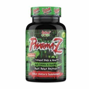 Psycho Pharma Pharma-Z - 100 Caps Anti Stress & Anxiety, Rest Relax Recover