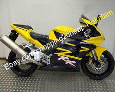 For Honda Parts CBR954RR 2002 2003 CBR900RR 954 02 03 Yellow Black Sport Fairing