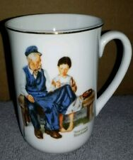 """Norman Rockwell Museum """"The Lighthouse Keeper's Daughter"""" 1982 Mug"""