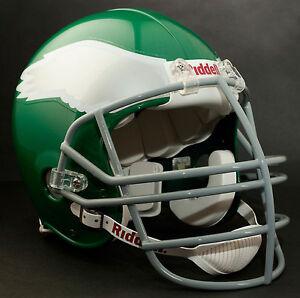 REGGIE WHITE Edition PHILADELPHIA EAGLES Riddell AUTHENTIC Football Helmet NFL
