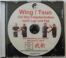 DVD  Wing Tsun Chun Chi Sao Fak Sao Handkantenschläge und Folgetechniken