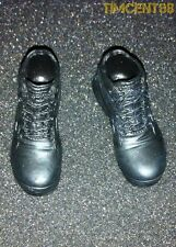 Hot Toys Iron Man 3 Tony Stark Workshop Armor Test Ver 1/6 Black Shoes Boots