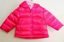 NWT Healthtex Girl's Bubble Jacket/ Coat, 12 Months, Pink