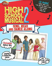"Disney ""High School Musical"" 2: Sing, Dance and Read Along, , Very Good Book"