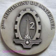 MED10247 - MEDAILLE 2° REGIMENT DU MATERIEL