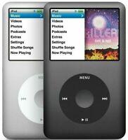 New Apple iPod Classic 7th Generation Black Silver 160GB (Latest Model) Sealed