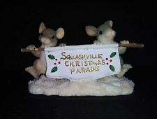 Charming Tails by Dean Griff, # 87/543, The Parade Banner Figurine - Used