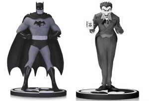 DC comics Batman & Joker By Dick Sprang Black & White statue set of 2 box RARE