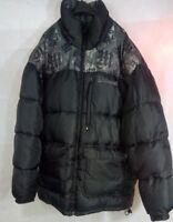 Makaveli Branded Tupac Shakur Puffer Coat Jacket Mens XL-Black