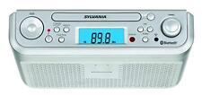 Best Kitchen Under Counter Sylvania Cabinet CD Player Stereo Radio Bluetooth New