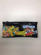 Rare Vintage Nintendo Inc School Kit 1988 Pencil Case Pouch Super Mario