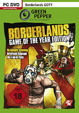 Borderlands - GOTY Game of the Year Edition für PC | GP | NEUWARE | dt.
