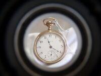 1910 Elgin 294 Grade Model 5 18s 7j SS/SW Gold Filled Pocket Watch