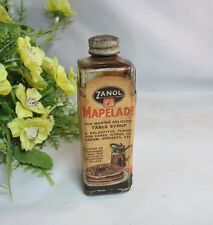 Vtg bottle of Mapelade by Zanol.To make maple flavor syrup