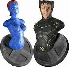 Marvel X-Men Movie Wolverine and Mystique Mini Bust Set NEW Figure NECA