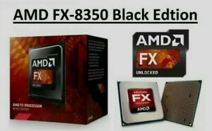 AMD FX-8350 8-Core 4Ghz CPU BE Vishera AM3+ (FD8350FRW8KHK) *Warranty*