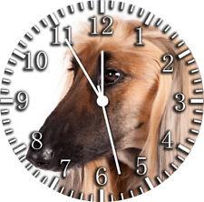 Afghan Hound Wall Clock F26