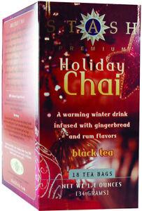 Holiday Chai Black Tea by Stash, 18 tea bag