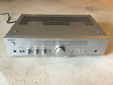 Stereo integrated amplifier SONY TA-343, 1981