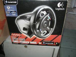 NEW!! Logitech Speed Force Steering Wheel Nintendo GameCube